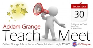 AGS Teachmeet 2014